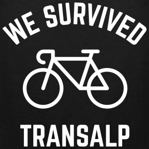 We Survived Transalp (Alps / Racing Bike) Sports wear - Men's Premium Tank Top
