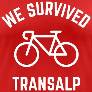 We Survived Transalp (Alpes / Vélo De Course) Tee shirts - T-shirt respirant Femme