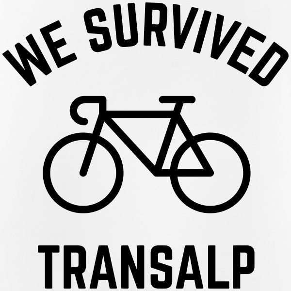 We Survived Transalp (Alpes / Bicicleta Carreras) Ropa deportiva - Camiseta sin mangas hombre transpirable