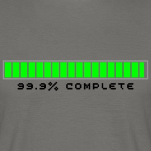 99.9% Download Complete - Men's T-Shirt
