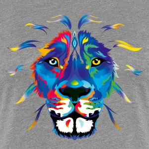 Fresh Color Lion - Women's Premium T-Shirt