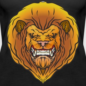 Lions colors Tops - Women's Premium Tank Top