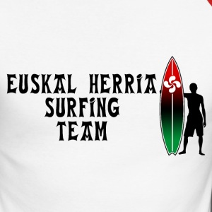 Basque surfing team  22 Manches longues - T-shirt baseball manches longues Homme