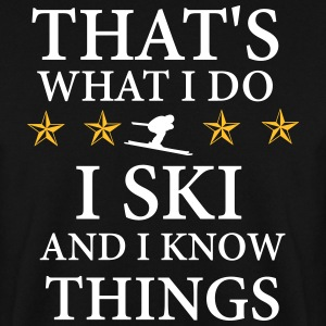 I ski & know things Pullover & Hoodies - Männer Pullover