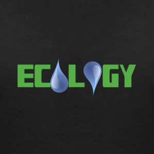 ecology T-Shirts - Women's V-Neck T-Shirt