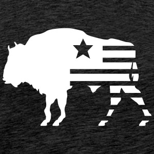 bison texas T-Shirts - Men's Premium T-Shirt