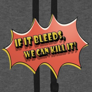 if_it_bleeds Hoodies & Sweatshirts - Unisex Baseball Hoodie