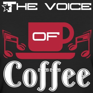 The Voice of Coffee - Women's Organic T-shirt