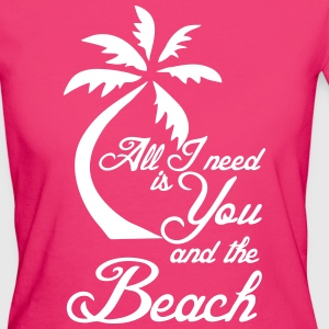 You and the Beach - Frauen Bio-T-Shirt