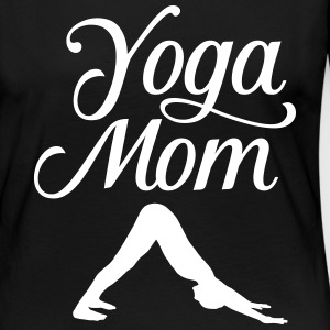 Yoga Mom | Downward Facing Dog Asana Long Sleeve Shirts - Women's Premium Longsleeve Shirt
