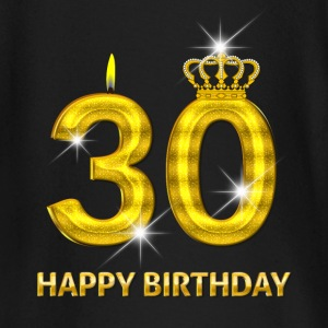 30-happy birthday - birthday - number gold Baby Long Sleeve Shirts - Baby Long Sleeve T-Shirt