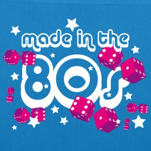 Bio Stoffbeutel – Made in the 80s - Bio-Stoffbeutel