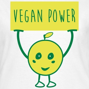 Vegan power - Frauen T-Shirt