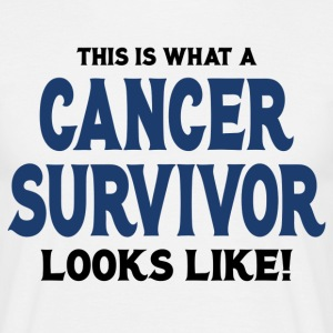 This Is What A Cancer Survivor Looks Like T-Shirts - Men's T-Shirt