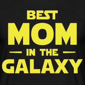 Best Mom In The Galaxy T-Shirts - Men's T-Shirt