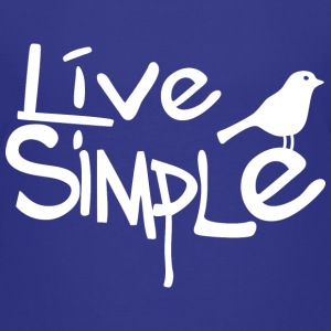Live simple (dark) Tee shirts - T-shirt Premium Enfant