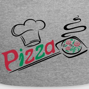 Pizza baker with cooking cap, Italian food. - Jersey Beanie