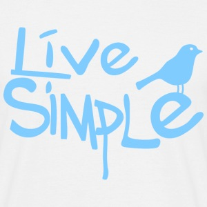 Live simple Tee shirts - T-shirt Homme