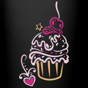 Cupcake, Muffin with sweets - Full Colour Mug