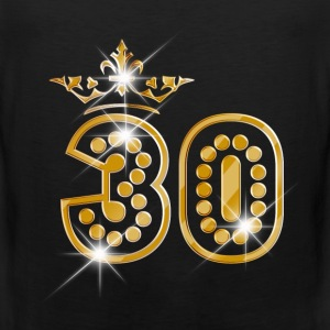 30 - Birthday - Queen - Gold - Burlesque Vêtements de sport - Débardeur Premium Homme