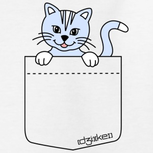 pocket friend - kitten - Kinder T-Shirt