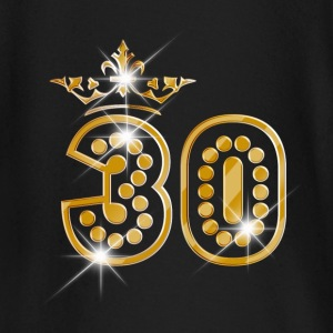 30 - Birthday - Queen - Gold - Burlesque Baby Long Sleeve Shirts - Baby Long Sleeve T-Shirt
