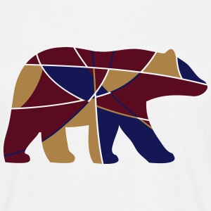 color bear - Männer T-Shirt