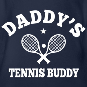 Daddy's Tennis Buddy Baby Bodys - Baby Bio-Kurzarm-Body