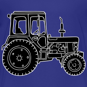 Traktor Trecker 2 - Teenager Premium T-Shirt
