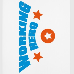 Working Hero - Mousepad (Hochformat)