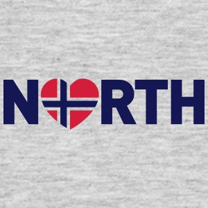 Nord-Norge love - plagget.no - T-skjorte for menn