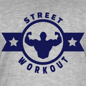 street workout Tee shirts - T-shirt vintage Homme