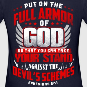 put on the full armor T-Shirts - Frauen Bio-T-Shirt