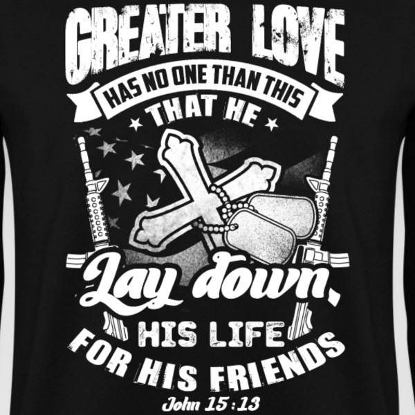 Greater love  Pullover & Hoodies - Männer Pullover