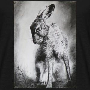 Charcoal Hare - Men's T-Shirt