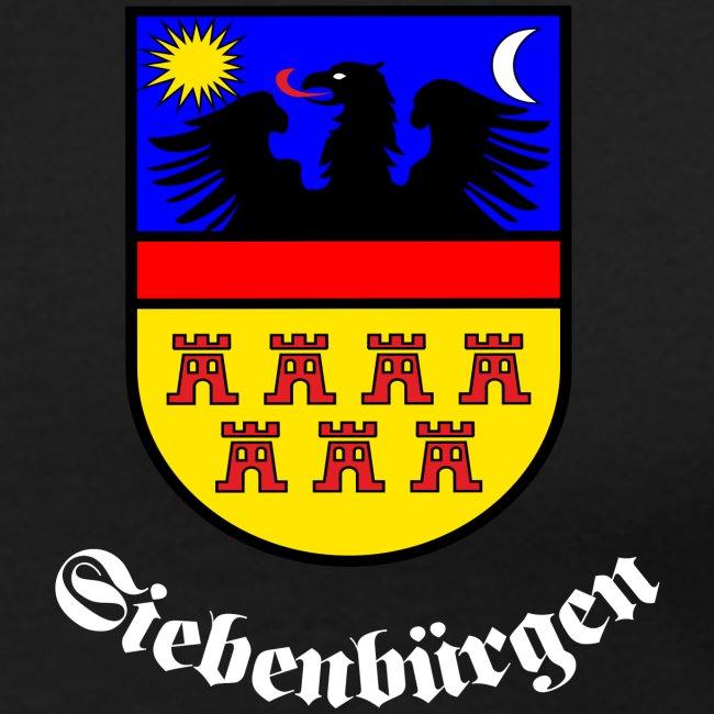 TShirt mit kleinem Siebenbürgen-Wappen auf der Brust