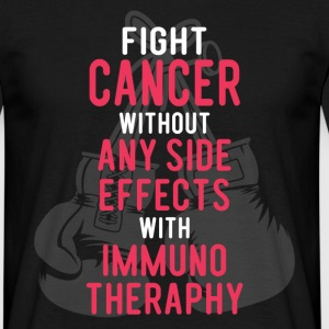 Fight Cancer With Immunotheraphy T-Shirts - Men's T-Shirt