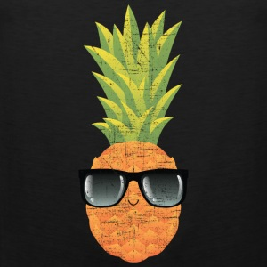 Pineapple With Sunglasses | Cool Illustration Sports wear - Men's Premium Tank Top