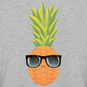 Pineapple With Sunglasses | Cool Illustration Long Sleeve Shirts - Kids' Premium Longsleeve Shirt
