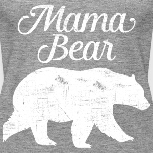 Mama Bear | Cool Mom Design Topit - Naisten premium hihaton toppi
