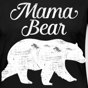 Mama Bear | Cool Mom Design Long Sleeve Shirts - Women's Premium Longsleeve Shirt