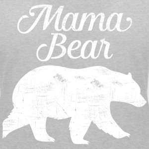 Mama Bear | Cool Mom Design T-Shirts - Women's V-Neck T-Shirt