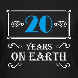 20 years on earth T-shirts - Dame-T-shirt