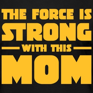 The Force Is Strong With This Mom Långärmade T-shirts - Långärmad premium-T-shirt dam