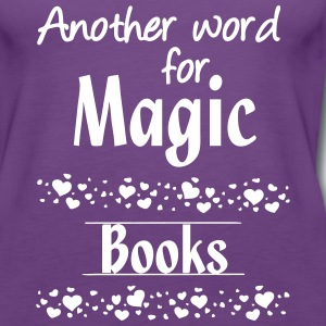 Magic Books Tops - Frauen Premium Tank Top
