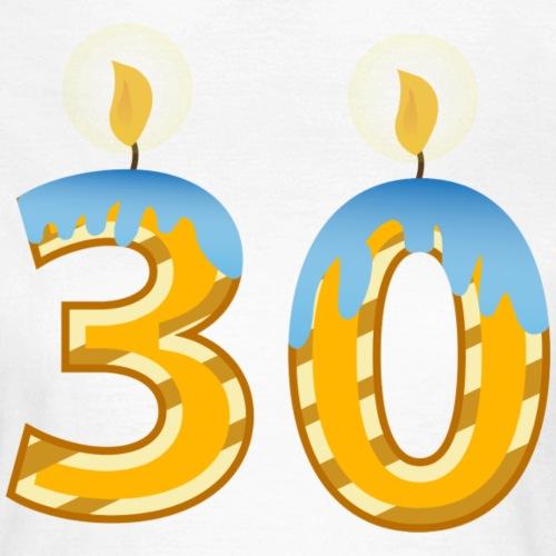 30th Birthday Candles