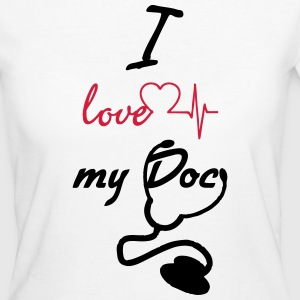 I love my Doc - Women's Organic T-shirt