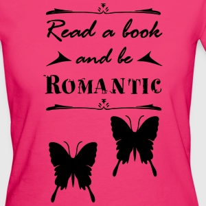 Book Romantic - Women's Organic T-shirt