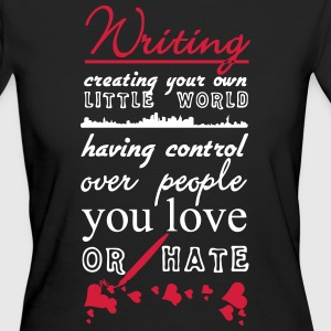 Writing - Women's Organic T-shirt