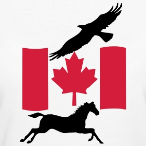 Freedom in Canada  - Women's Organic T-shirt